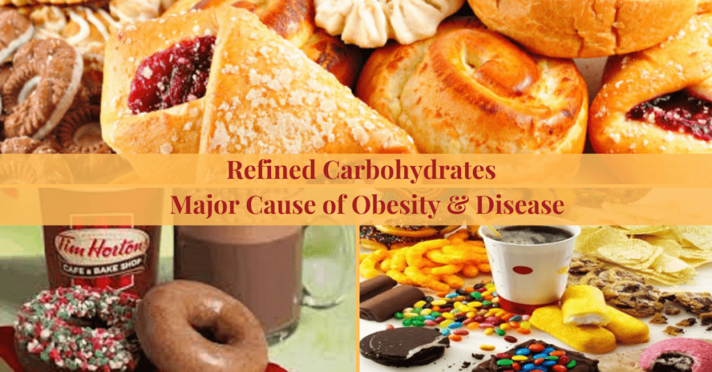 Refined Carbohydrates the Major Cause of Obesity & Disease
