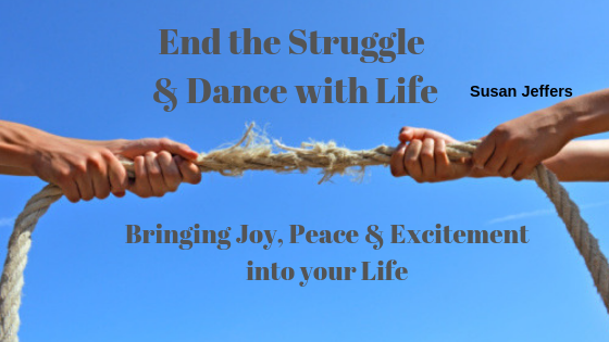 End the Struggle & Dance with Life is about Learning to Rise above Daily Challenges to bring Joy, Peace, Excitement & Happiness into each day of your life