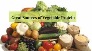 Healthy Sources of Vegetable Protein