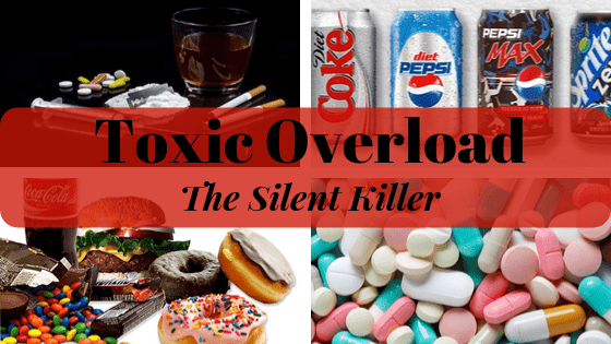 Toxic Overload - A Lifestyle of negative habits, processed, packaged foods, increased consumption of chemically laden soft drinks and medications