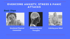 Overcome Anxiety, Fear & Panic Attacks with these Easy to Follow Steps!
