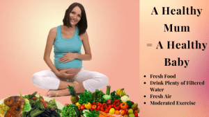 A Healthy Mum = A Healthy Baby