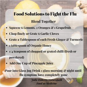 Food Solutions to Fight Your Flu