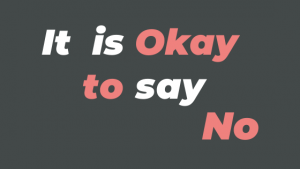 Nice People can say NO - Saying No for Peace of Mind!