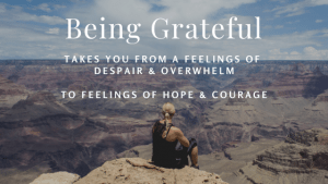 Being Grateful helps in Rising above Daily Stress