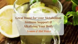 Great-Immune-Metabolic-Boost Lemon & Hot Water