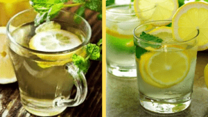 Lemon and Hot Water Great Immune Boost & Alkalizing for your Body