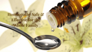 Homeoapthic Medicine Safe and Effective for the whole family