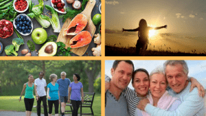 Implementing healthy lifestyle habits for a Lifetime of Optimal Health, Happiness & Vitality