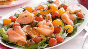 Smoked Salmon Platter; Great for a healthy Brain