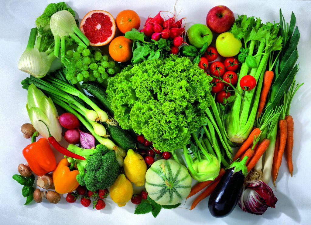 Eat a Rainbow of Colours for Optimal Health