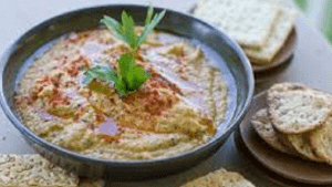 Hommous Dip a Greater Starter or Acommpliment with any meal