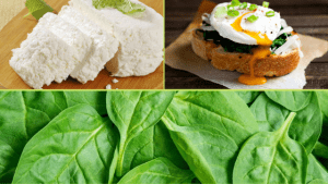 Poached Eggs with Spinach and Ricotta Cheese: An Easy & Great Start to your Day