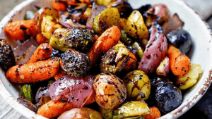 Roast Baked Vegetables - A Great Accompliment with Any Meal