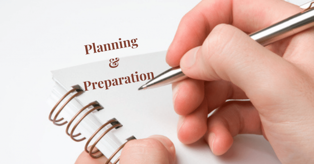 Planning & Preparation! The Key to Achieving your Goals & Dreams