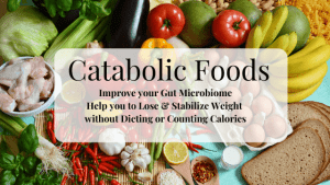 Healthy Weight loss with Catabolic Foods, improving your Gut Microbiome