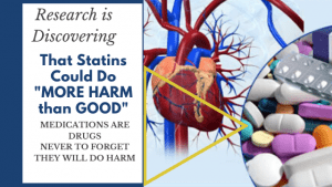 Research has discovered that Statin Medication could do more Harm than Good!