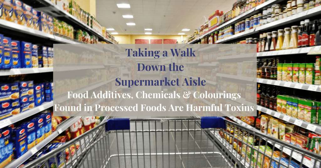 Taking a Walk Down the Supermarket Aisle. The Food Label con Exposed