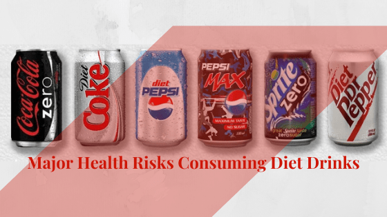 Diet drinks damage the brain and nervous function: Cause Muscle deterioration, lack of movement and Cancer