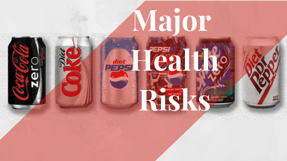 Major Health Risks to Drinking Sugar Free Drinks