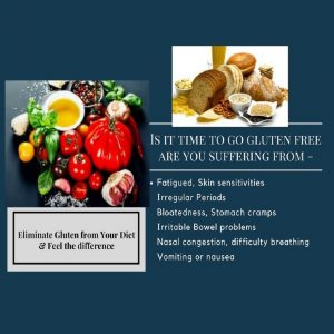 Are you suffering from Digestive problems such as irritable bowel, indigestion, heartburn, bloatedness. Maybe it's time to go gluten free