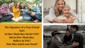 Signature of a True Friend: They will leave Footprints in your Heart: 5 Key Insights to the Signature of a True Friend