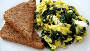 Gut Friendly Scrambled Eggs