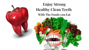 Enjoy Strong Healthy Clean Teeth with the Foods you Eat