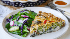 Vegetable Frittata A Easy Healthy Meal