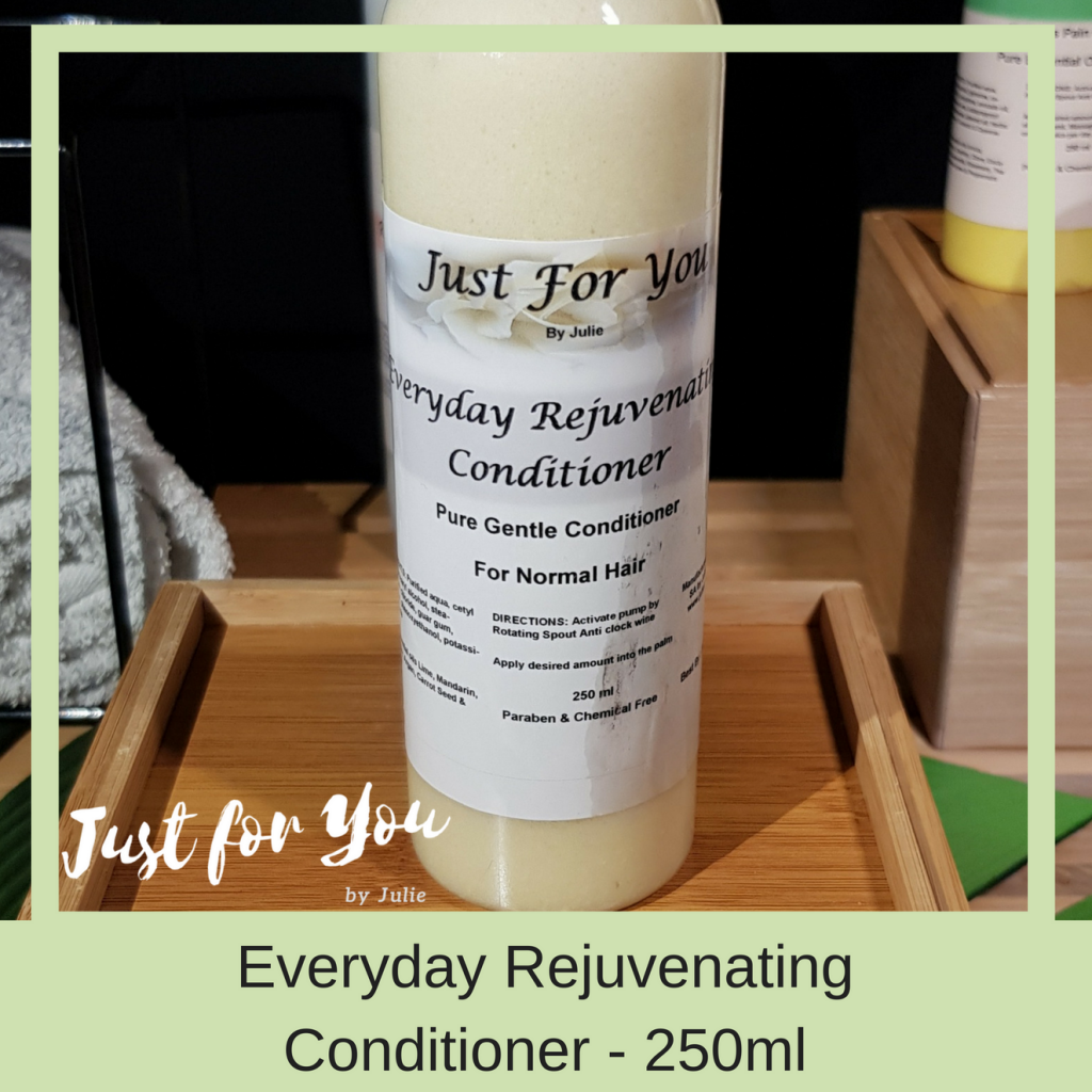 Just for You by Julie: Everyday Rejuvenating Conditioner