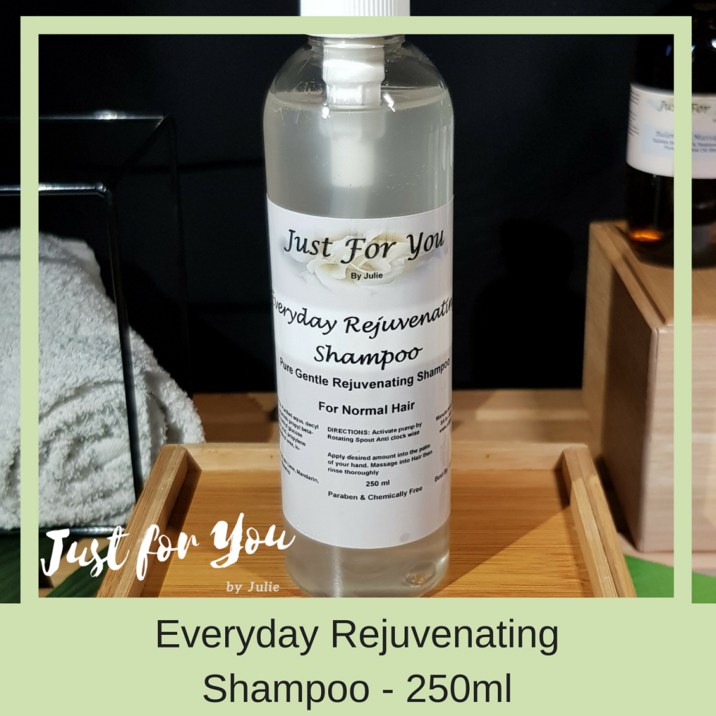 Just for You by Julie: Everyday Rejuvenating Shampoo