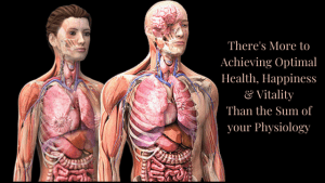 There is More to Achieving Optimal Health, Happiness & Vitality than the Sum of your Physiology