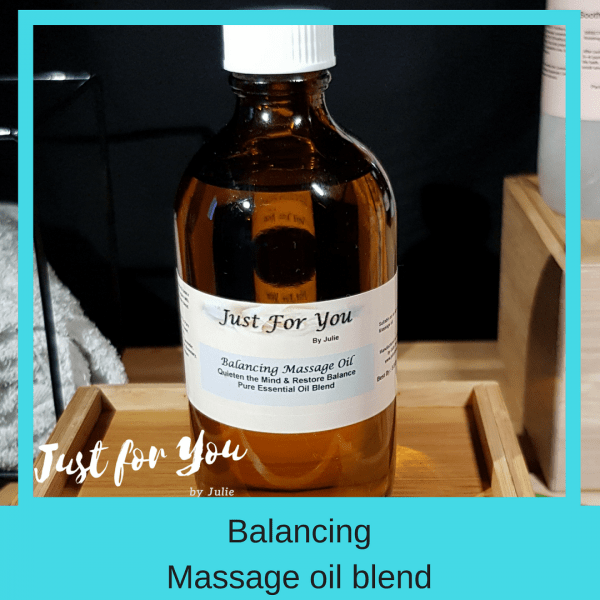 Balance & Soothe Massage Oil Blend
