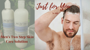 Just for You by Julie Mens two step skin care solution