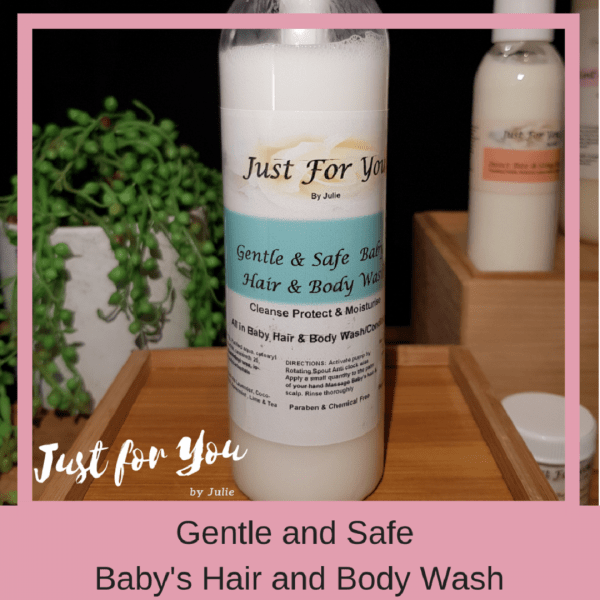 Baby & Childrens Gentle and Safe Hair & Body Wash