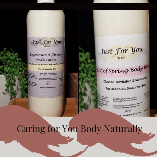 Hint of Spring Body Wash & Regenerate & Firming Body Lotion Set
