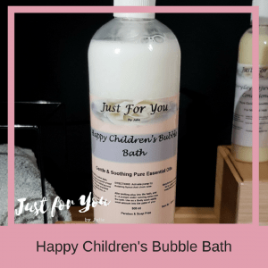 Just for You by Julie Happy Childrens Bubble Bath