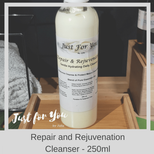 Just for You by Julie Repair and Rejuvenating Cleanser