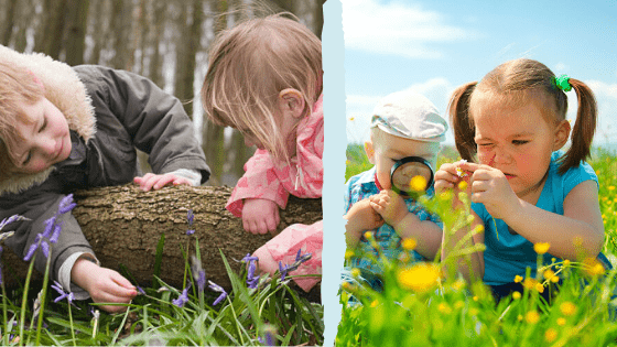 Overcoming Nature Deficit Disorder: Kids Exploring Nature