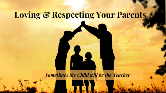 Loving & Respecting your Parents. A Child's Guide for supporting their parents journey through parenthood