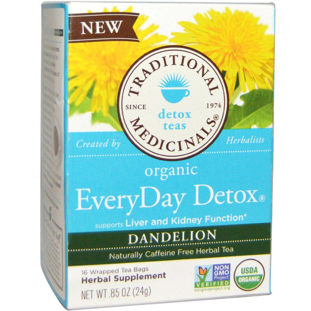 Organic Dandelion tea Everyday Detox