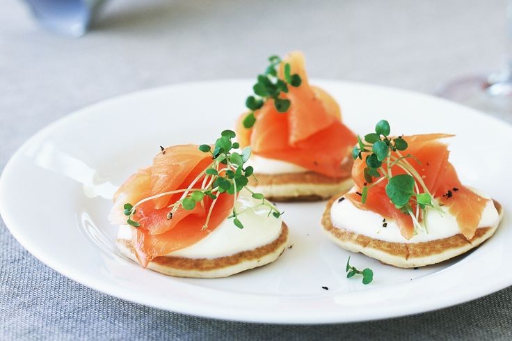Gluten Free Pikeletts with Poached egg and salmon