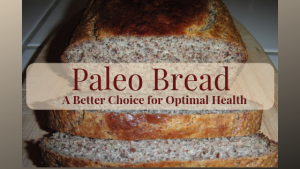Paleo Bread a Healthier alternative and easy to make recipe