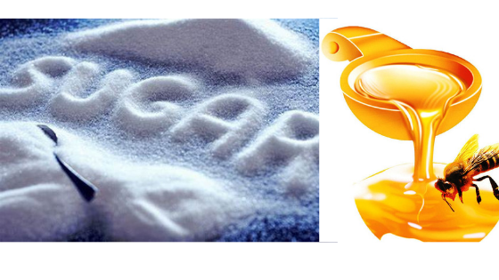 Effects of Honey & Sugar on Cholesterol & Cardiovascular Disease. Sugar is the Bad Guy and Honey is the Good Guy.