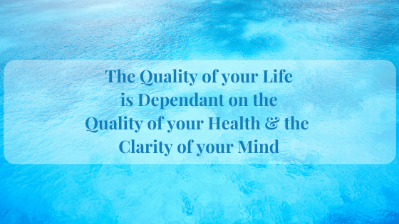 Building Clarity of Mind is vital for Emotional & Physical Balance