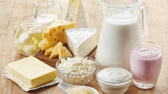 Dairy Most Common causative food when it comes to allergies