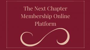 The Next Chapter Membership Online Platform
