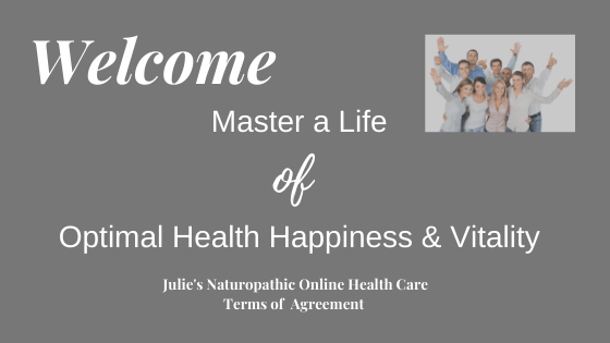 Welcome to Julie Doherty's Naturopathic Online Health Care Terms of Use