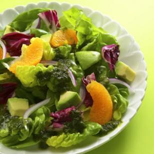 Avocado & Orange salad