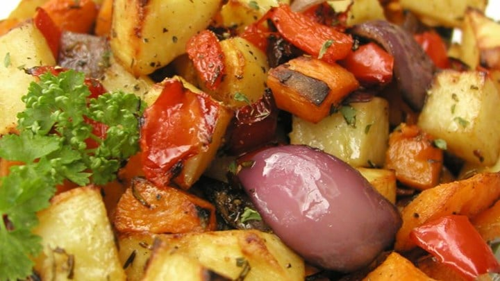 Baked Roast Vegetables